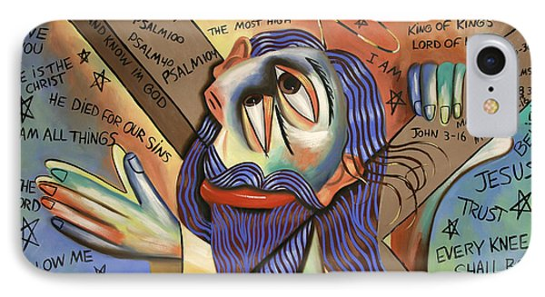 Jesus Phone Case by Anthony Falbo