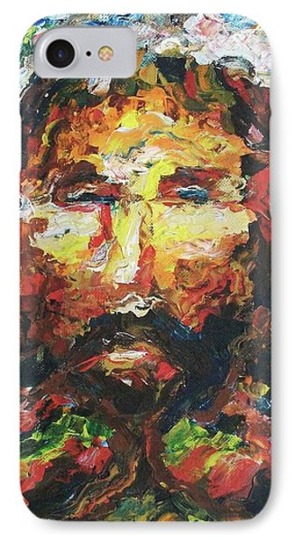 Jesus Are You There IPhone Case by Suzanne  Marie Leclair