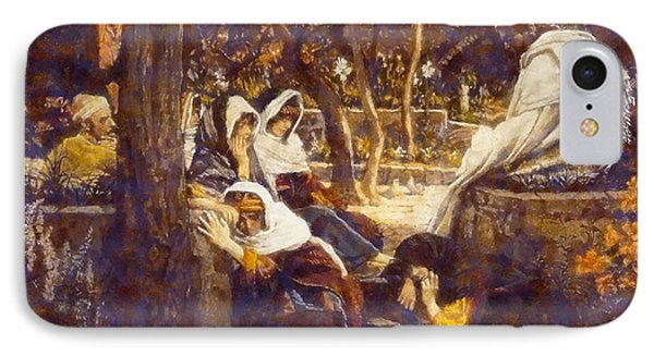 Jesus At Bethany IPhone Case by James Tissot