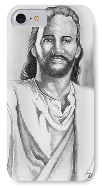 Jesus Phone Case by Bill Richards