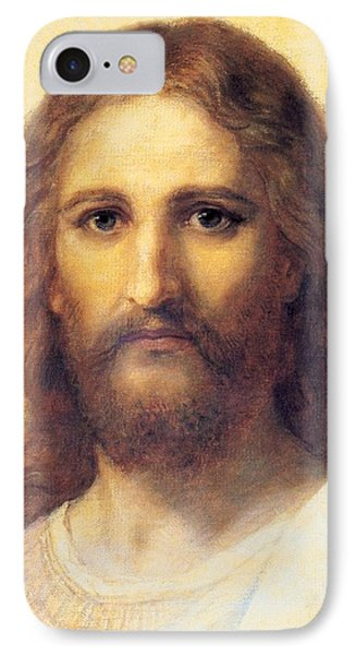 Jesus Christ IPhone Case by Carl Bloch