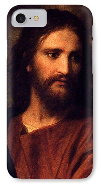 Jesus Christ IPhone Case by Heinrich Hofmann
