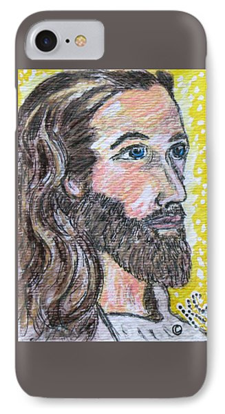 Jesus Christ Phone Case by Kathy Marrs Chandler