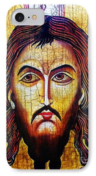 Jesus Christ Mandylion Phone Case by Ryszard Sleczka