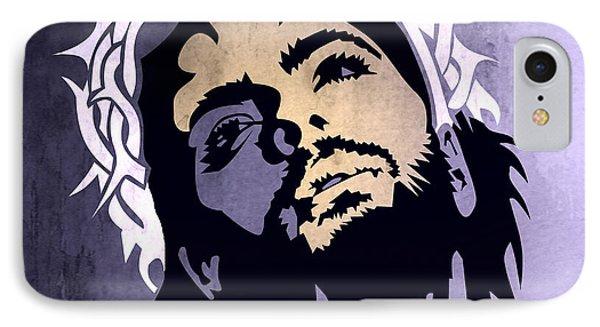 Jesus Christ IPhone Case by Mark Ashkenazi