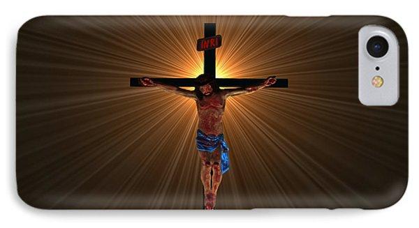 Jesus Christ IPhone Case by Michael Rucker