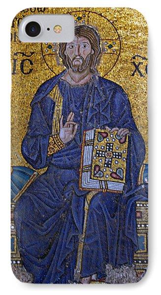 Jesus Christ Mosaic Phone Case by Stephen Stookey