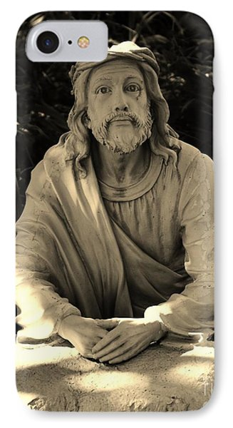 Jesus In The Garden Phone Case by Bob Sample