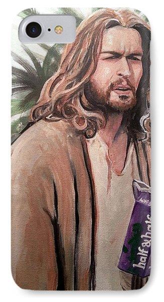 Jesus Lebowski Phone Case by Tom Carlton