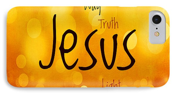 Jesus Light 1 IPhone Case by Angelina Vick