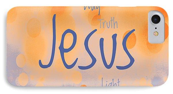Jesus Light 2 Phone Case by Angelina Vick