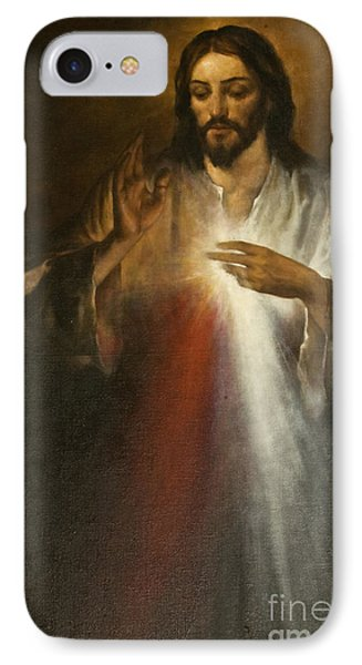 Jesus Of Divine Mercy IPhone Case by Dan Radi
