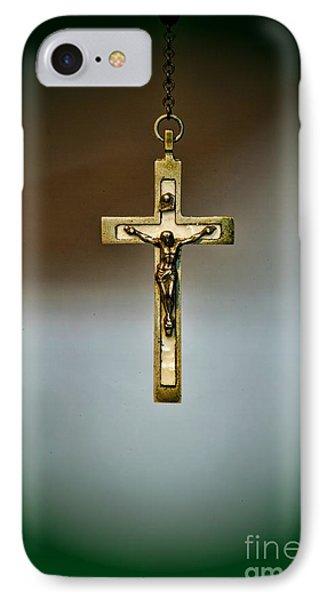 Jesus On The Cross 1 Phone Case by Paul Ward