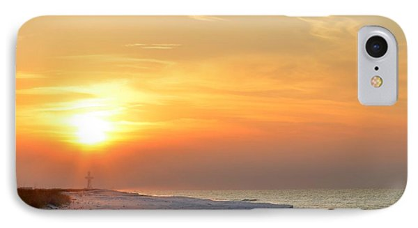 Jesus Rising On Easter Morning On Navarre Beach IPhone Case by Jeff at JSJ Photography