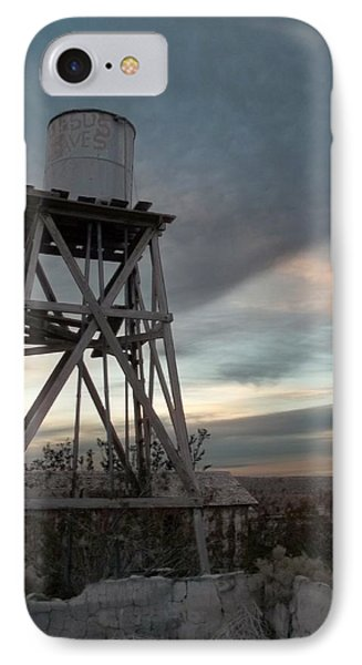 Jesus Saves Watertower - Route 66 IPhone Case by Glenn McCarthy Art and Photography