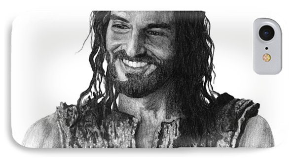 Jesus Smiling IPhone Case by Bobby Shaw