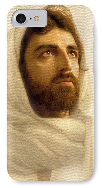 Jesus Wept IPhone Case by Ray Downing