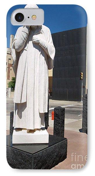Jesus Wept IPhone Case by Robin Maria Pedrero