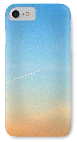 IPhone 7 Case featuring the photograph Jet To Sky by Marc Philippe Joly
