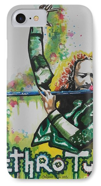Jethro Tull IPhone Case by Chrisann Ellis
