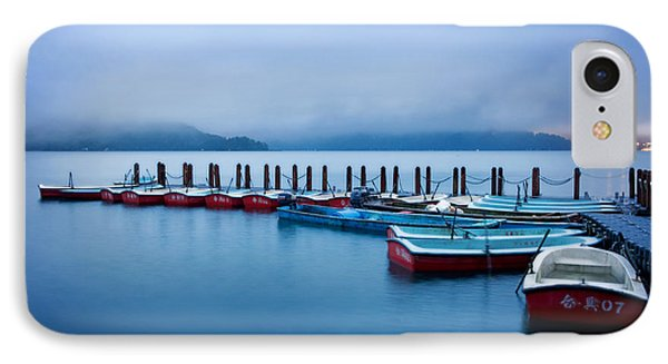 Jetty At Sun Moon Lake IPhone Case by Yew Kwang