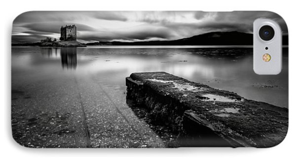 Jetty To Castle Stalker Phone Case by Dave Bowman