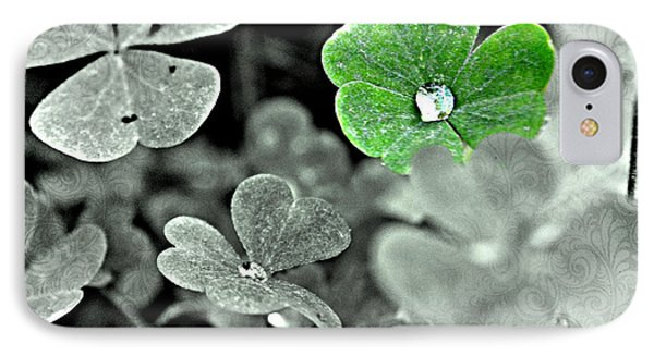 Jeweled Clover IPhone Case