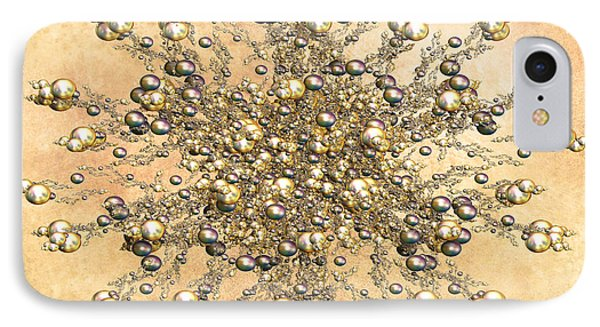 Jewels In The Sand IPhone Case by Georgiana Romanovna