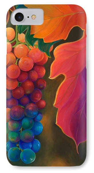 Jewels Of The Vine Phone Case by Sandi Whetzel