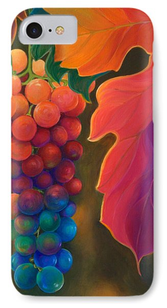 IPhone Case featuring the painting Jewels Of The Vine by Sandi Whetzel