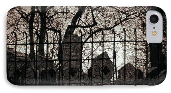 Jewish Cemetery Prague IPhone Case