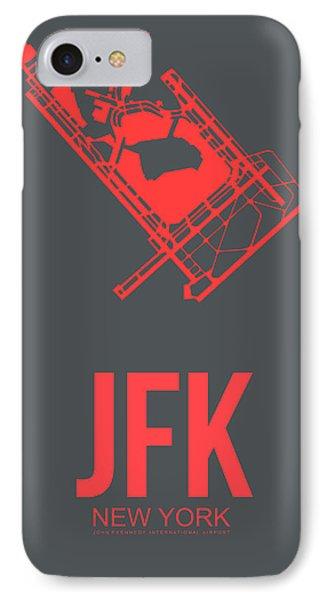 Jfk Airport Poster 2 IPhone Case