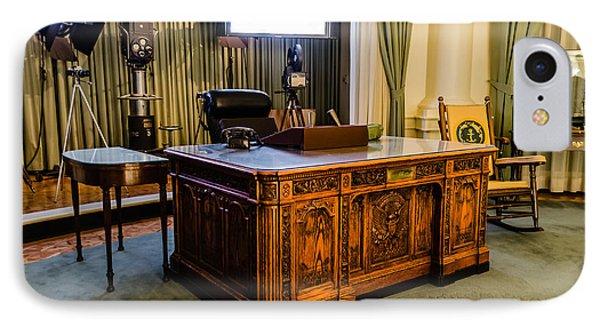 Jfk's Oval Office IPhone Case