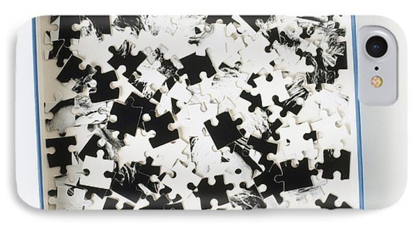 Jigsaw Puzzle Pieces IPhone Case by Dorling Kindersley/uig
