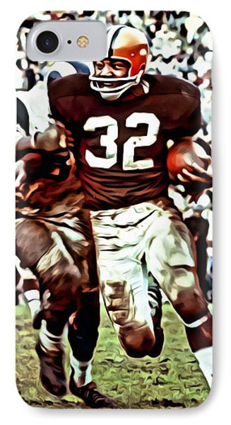 Jim Brown IPhone Case