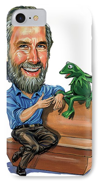 Jim Henson Phone Case by Art