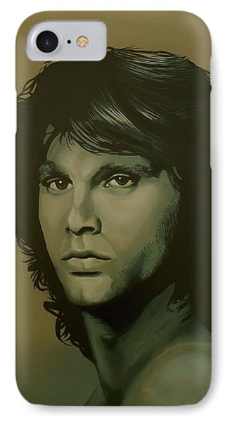 Jim Morrison Painting IPhone Case