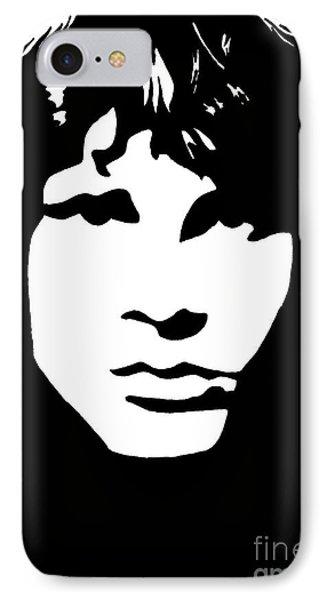 Jim Morrison  Phone Case by Yael Rosen