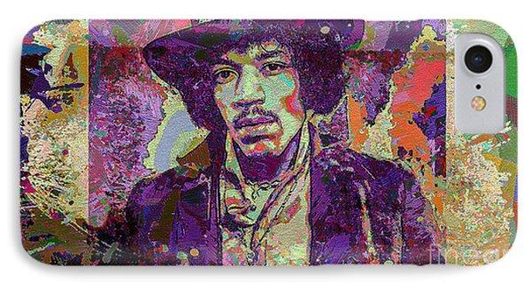 Jimi Hendrix Phone Case by Eleni Mac Synodinos