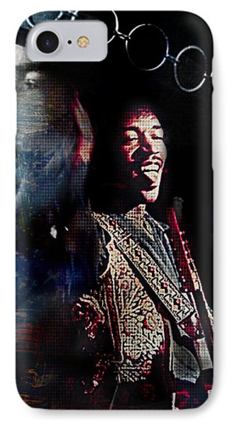 Jimmy Hendrix IPhone Case by Lynda Payton