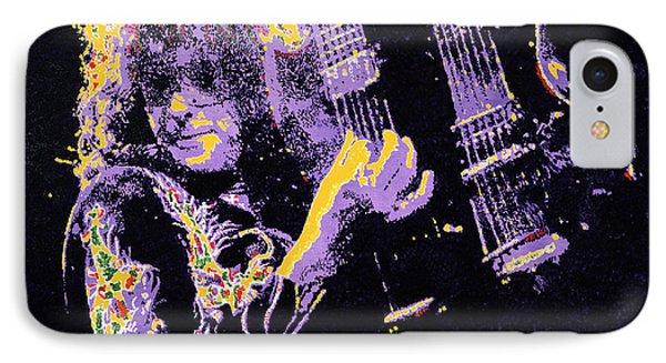 Jimmy Page Phone Case by Barry Novis