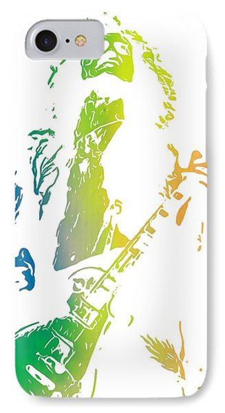Jimmy Page IPhone Case by Dan Sproul
