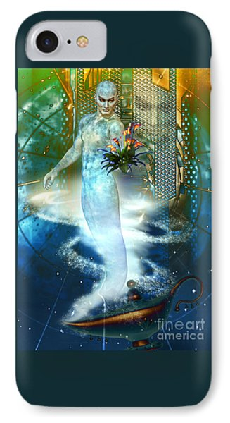 IPhone Case featuring the digital art Jinn by Shadowlea Is