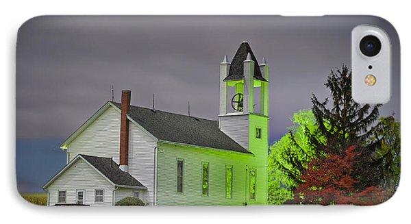 Jo Daviess County Church IPhone Case