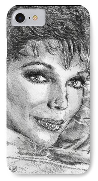 Joan Collins In 1985 Phone Case by J McCombie