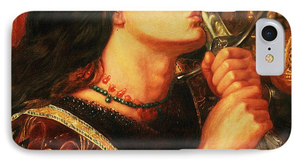 Joan Of Arc Kissing The Sword Phone Case by Dante Gabriel Charles Rossetti