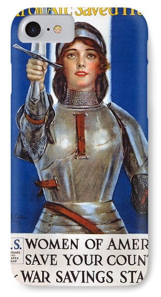 Joan Of Arc Saved France IPhone Case