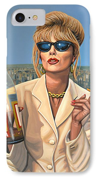 Joanna Lumley As Patsy Stone IPhone Case
