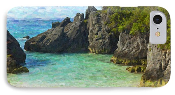 IPhone Case featuring the photograph Jobson Cove Beach by Verena Matthew