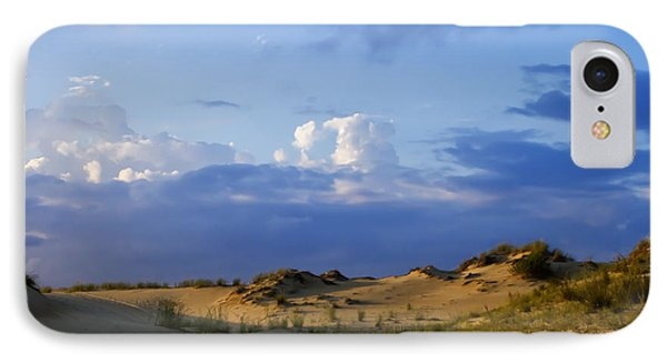 Jockey's Ridge State Park IPhone Case by Skip Tribby